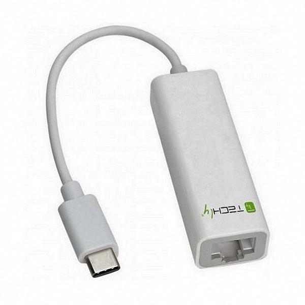 Adaptador Usb-c Para Gigabit Ethernet 1000mpbs Usb 3.1 Rj 45
