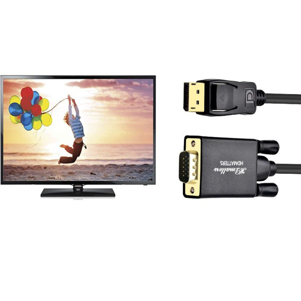 Cabo Displayport Vga DP Vga  3m 3 metros Monitor VGA
