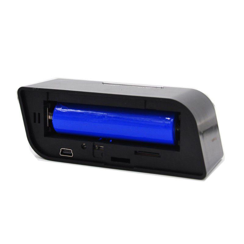 Câmera Espiã Relógio Wifi Ip 1080p Acesso No Celular Ou Pc