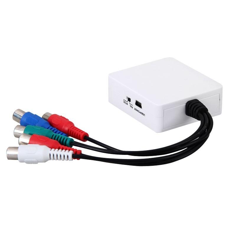 Conversor YPBPR Video Componente para AV 3 rca