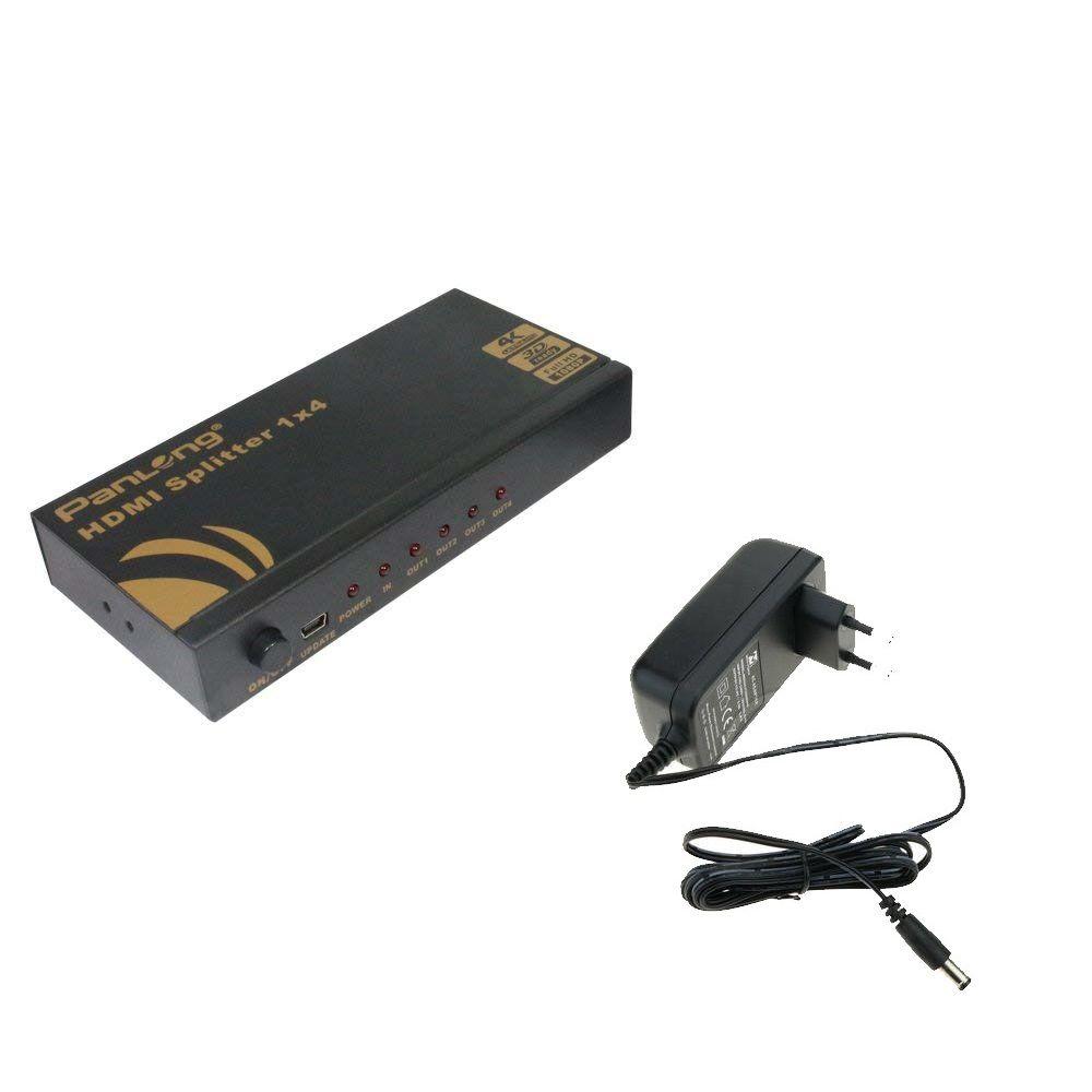Divisor Splitter HDMI 1x4 Premium 4K x 2K Full HD 1080p