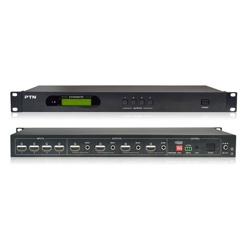 HDMI Switcher Matrix 4x4 4k HD Profissional HDCP 2.2 RS232