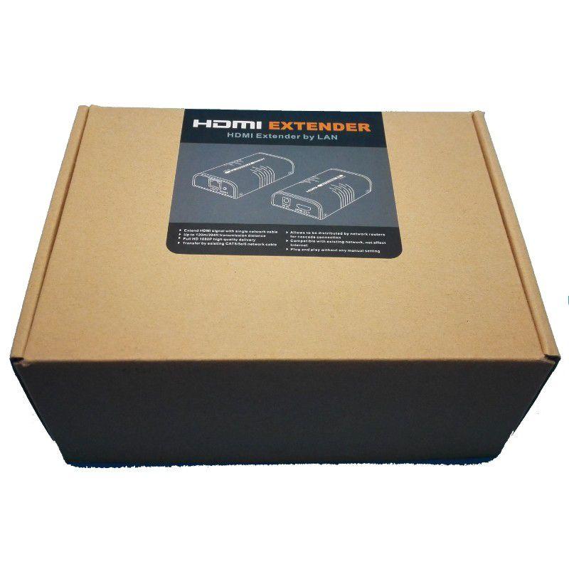 Kit Extensor HDMI 120m full HD 1080p LKV373a 3.0v Lenkeng