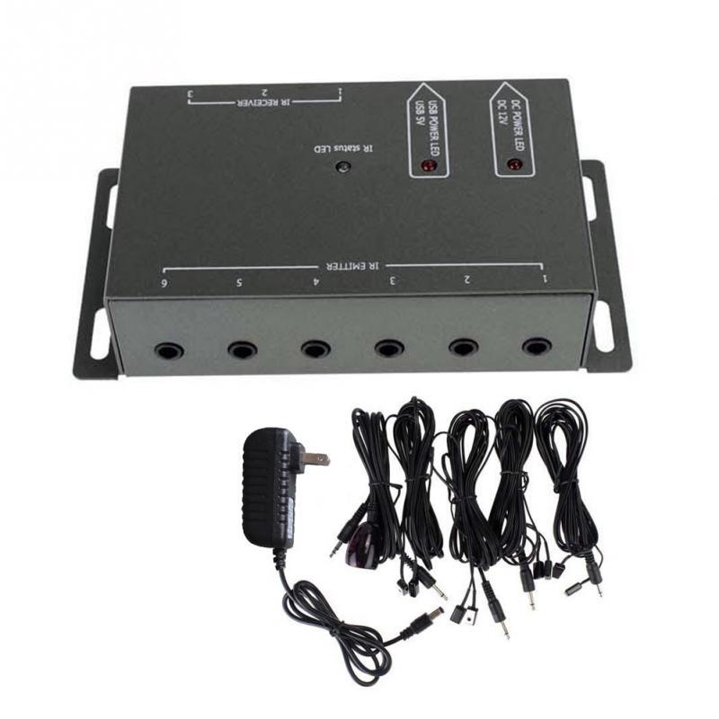 Kit Repetidor Controle Remoto 1 Receptor 4 Emissores