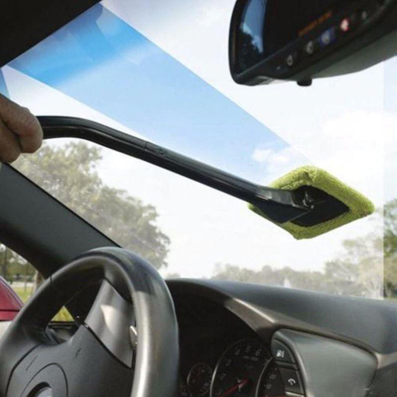 Pano Micro Fibra Limpador de para Brisa com Suporte 44 cm