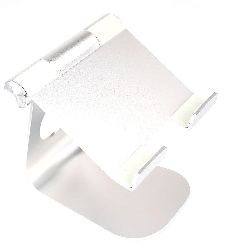Suporte Universal Para Tablet Celular Ajustável Aluminio