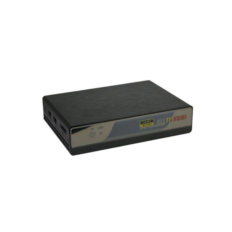 Switcher HDMI VGA AV USB para HDMI conversor 4k Upscaler