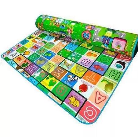 Tapete Infantil Portátil Bebe Conforto Atividades 2,00x1,80