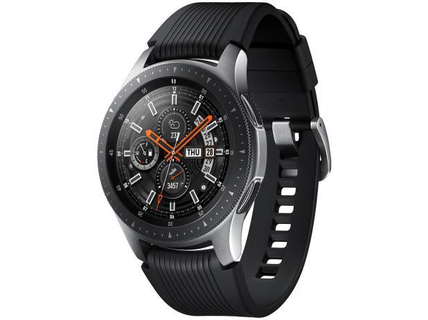701ce87f011 Relógio Smartwatch Samsung Galaxy Watch Bt 46mm - Prata - Infotecdez
