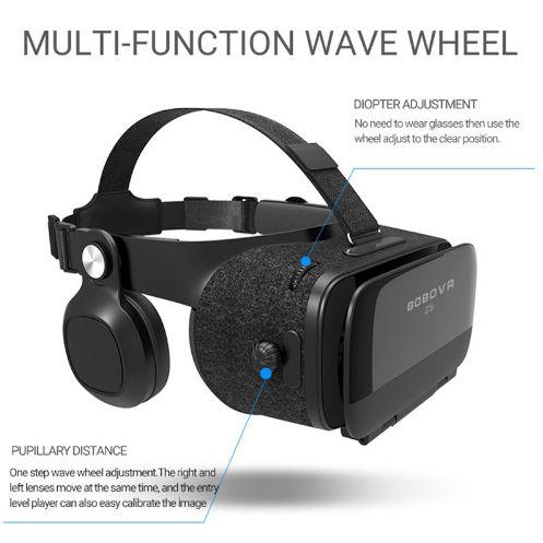 ... Óculos Virtual Bobo Vr Z5 Fone Acoplado 3d ... 9ae7bfb7b2