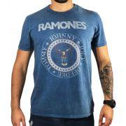Camiseta American Eagle Azul Ramones