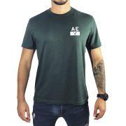 Camiseta American Eagle Verde Básica