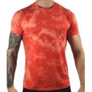 Camiseta Hollister Laranja Estonada