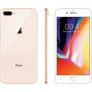 "iPhone 8 Plus Dourado 64GB Tela 5.5"" IOS 11 4G Wi-Fi Câmera 12MP - Apple"