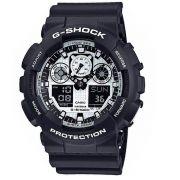 Relógio Casio G-Shock Ga-100BW-1A Masculino