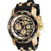 Relógio Invicta Pro Diver 25709 Banhado Ouro 18k