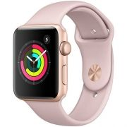 Watch Series 3 38mm Dourado Pulseira Rosa - Apple