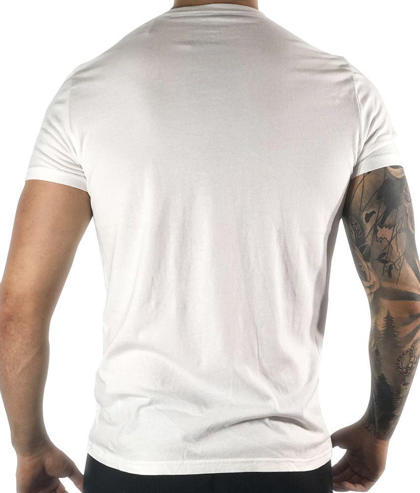 Camiseta Hollister Branca Básica
