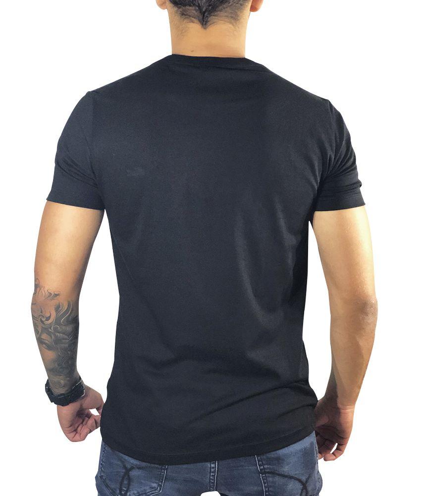 Camiseta Lacoste Preto Básica