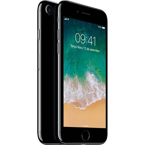 iPhone 7 128GB Preto Brilhante Desbloqueado IOS 10 Wi-fi + 4G Câmera 12MP - Apple