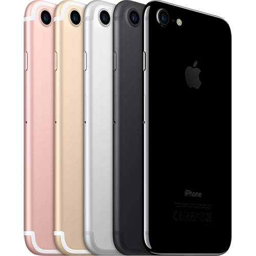 iPhone 7 32GB Dourado IOS 10 Wi-fi + 4G Câmera 12MP - Apple
