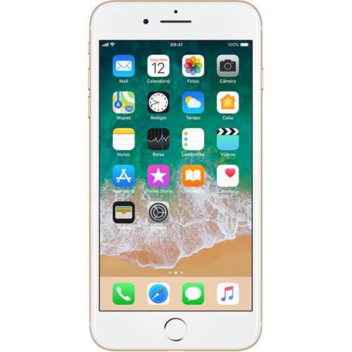 "IPhone 7 Plus 128GB Dourado Tela Retina HD 5,5"" 3D Touch Câmera Dupla de 12MP - Apple"