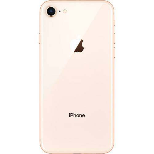 "iPhone 8 Dourado 256GB Tela 4.7"" IOS 11 4G Wi-Fi câmera 12MP - Apple"