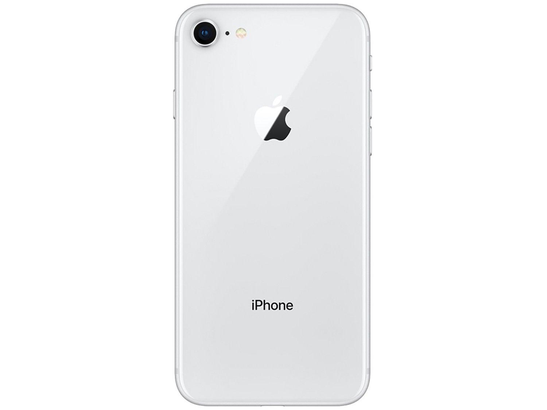 "iPhone 8 Prateado 64GB Tela 4.7"" IOS 11 4G Wi-Fi Câmera 12MP - Apple"