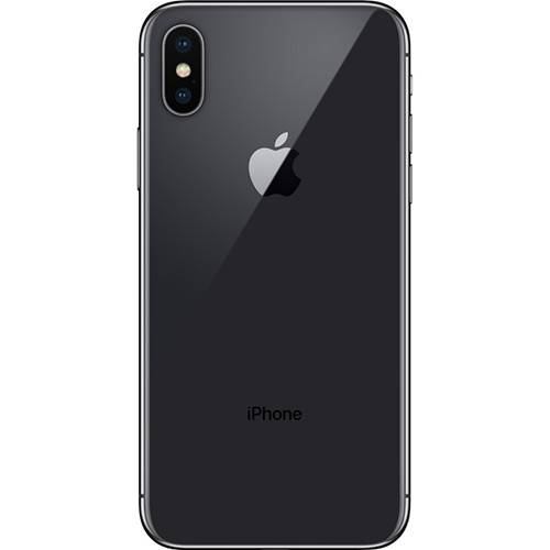 "iPhone X Cinza-Espacial 256GB Tela 5.8"" IOS 11 4G Wi-Fi Câmera 12MP - Apple"