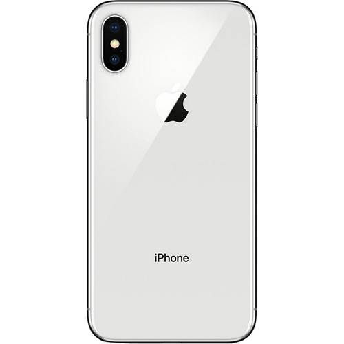 "iPhone X Prateado 256GB Tela 5.8"" IOS 11 4G Wi-Fi Câmera 12MP - Apple"