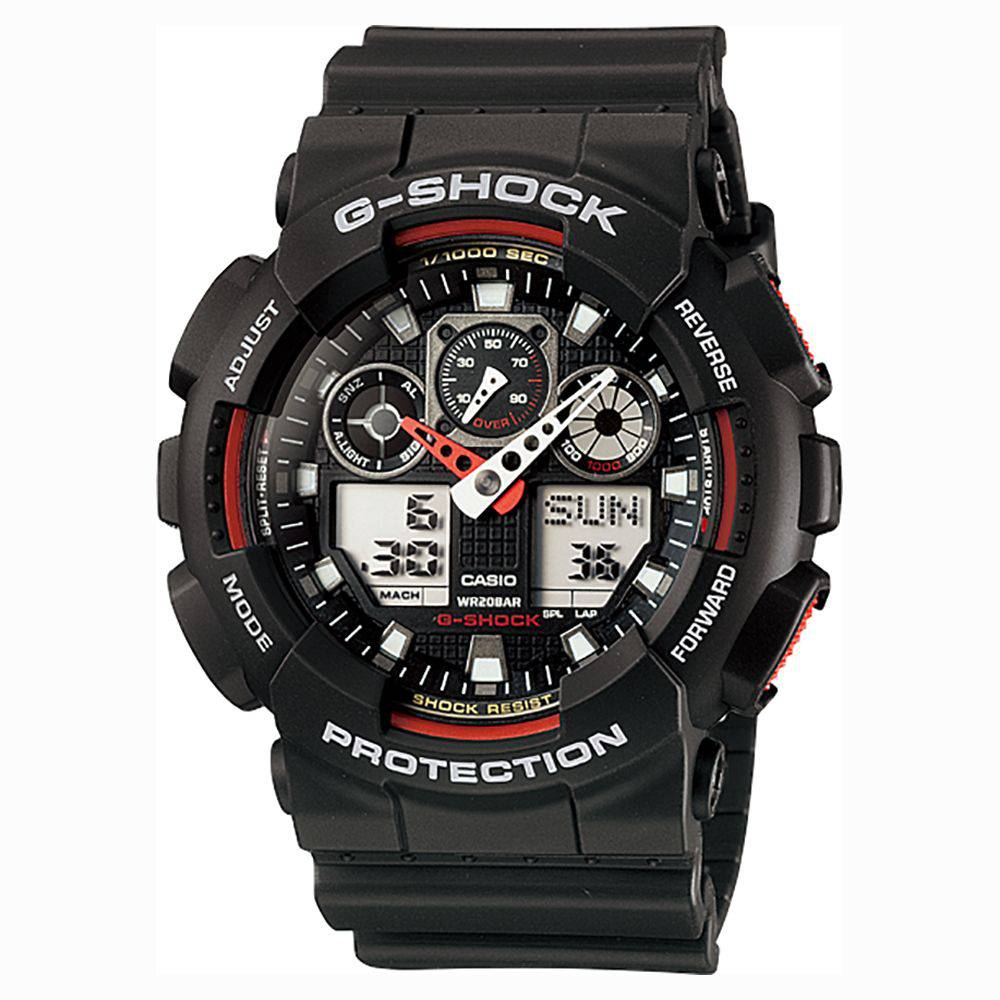 Relógio Casio G-Shock Ga-100-1A4 Masculino