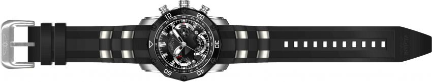 Relógio Invicta Pro Diver 22797 - Prata, Pulseira Preta, Resistente à água Até 100 Metros  de Profundidade