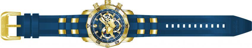 Relógio invicta Pro Diver 50mm 22798 Banhado Ouro 18K