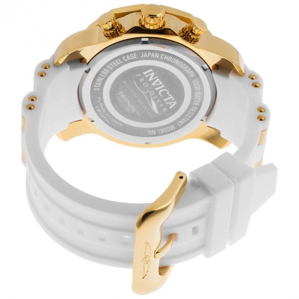 Relógio invicta Pro Diver 50mm 23423 Banhado Ouro 18K