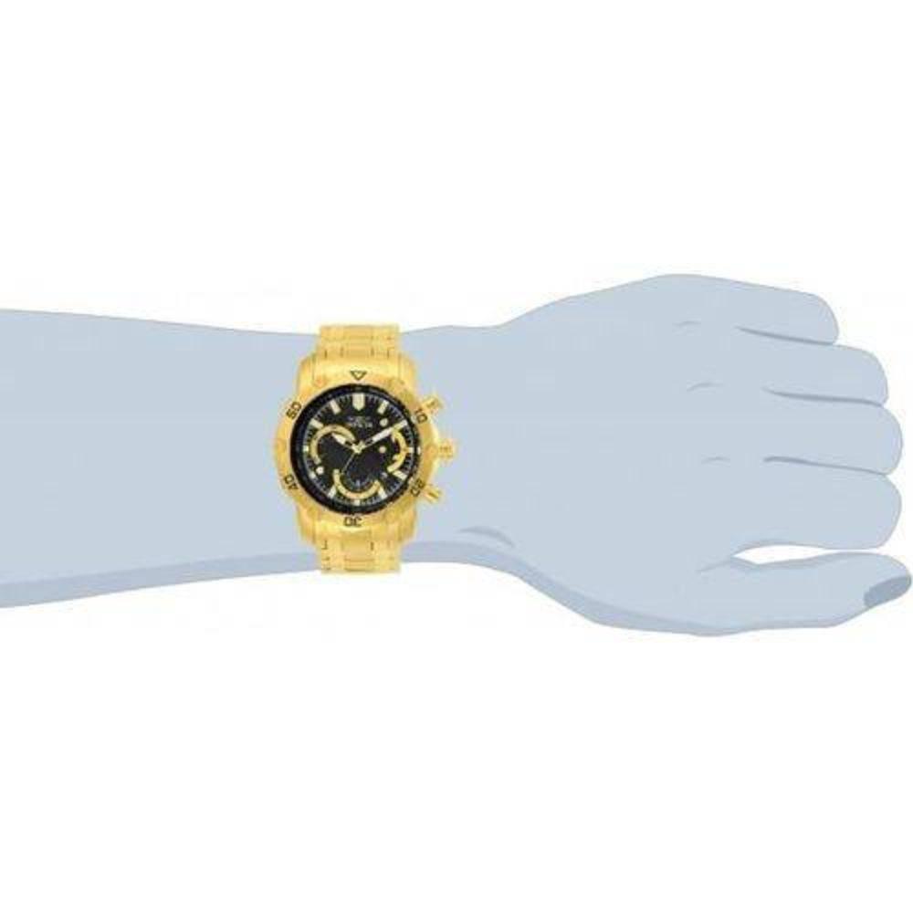 Relógio Invicta Pro Driver 22767 Preto Dourado