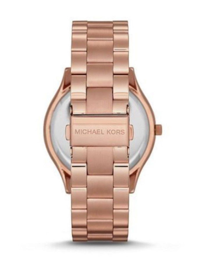 Relógio Michael Kors Mk6437 Rose Gold Pave Cristais