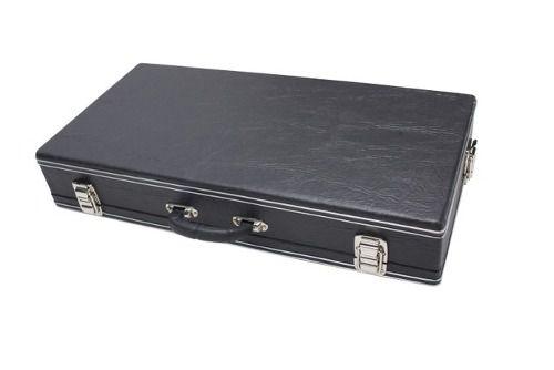 Estojo Case Para Pedais 66x25x10cm Luxo Fama