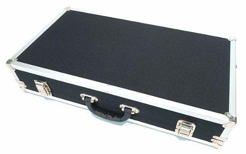 Case Pedal Board Para Pedais 48x30x10cm Super Luxo