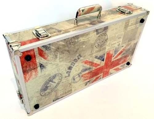 Case Para Pedaleira 55x35x15cm Tema Inglaterra