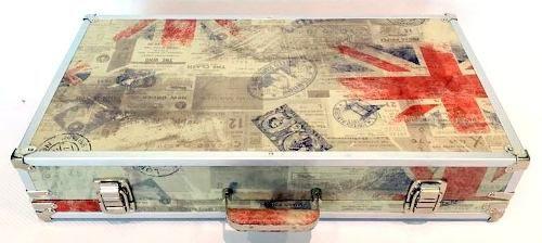 Case Pedais 63x33x10cm Tema London