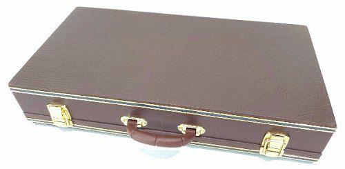 Case Para Pedais Pedaleira Zoom Boss Marrom 70x35x10cm