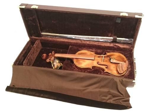 Estojo Para Violino Retangular 4/4 Extra Luxo
