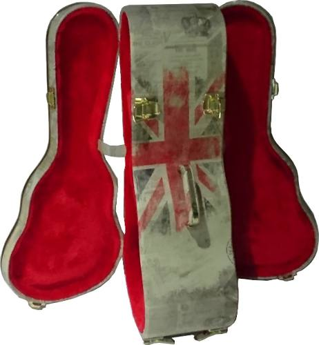 Case Duplo Para Cavaquinho London