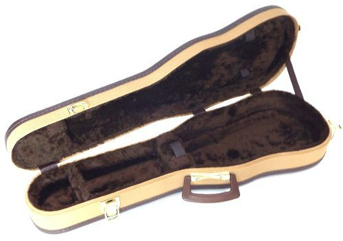 Estojo Para Violino 4/4 Luxo Golden Tweed