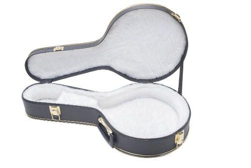 Estojo Case Para Banjo Luxo Pelúcia Branca