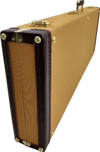 Case Tweed Guitarra Les Paul Strato Sg Epiphone Logo Fender