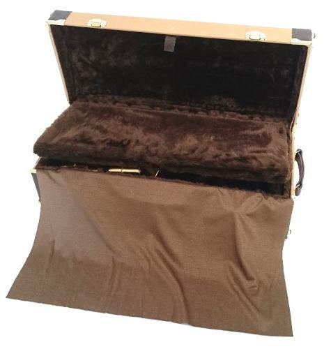 Estojo Case Para Sax Alto Com Compartimento Golden