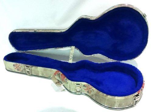 Estojo Case Para Guitarra Les Paul Gibson London Azul