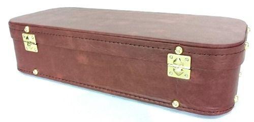 Estojo Case Para Sax Alto Vintage Marrom