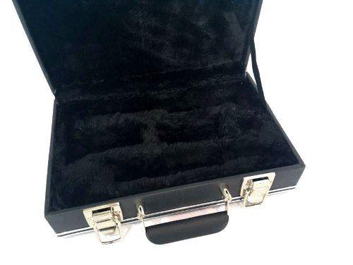 Estojo Case Para Clarineta Desmontada Luxo Preto Fama